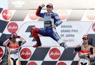 Moto Gp, in Giappone  vince Lorenzo  Marquez secondo: si decide tutto a Valencia