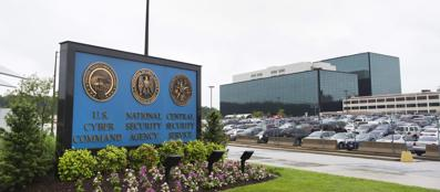 La sede della Nsa a Fort Meade, in Maryland (Epa)