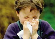 Bambino allergico
