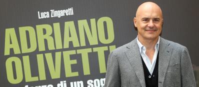 Luca Zingaretti è Adriano Olivetti nella fiction Rai