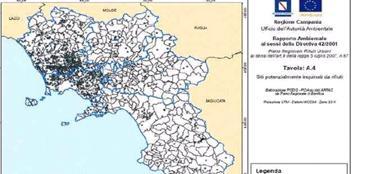 La mappa dei siti contaminati dalla diossina