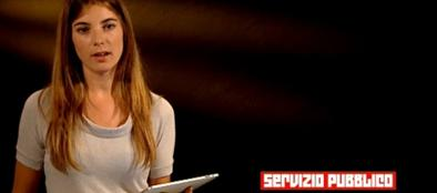 Giulia Innocenzi a «Servizio Pubblico»