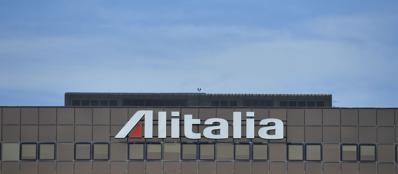 La sede di Alitalia a Fiumicino (Imagoeconomica)