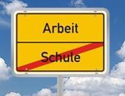 Non solo scuola (Schule) per trovare lavoro (Arbeit)