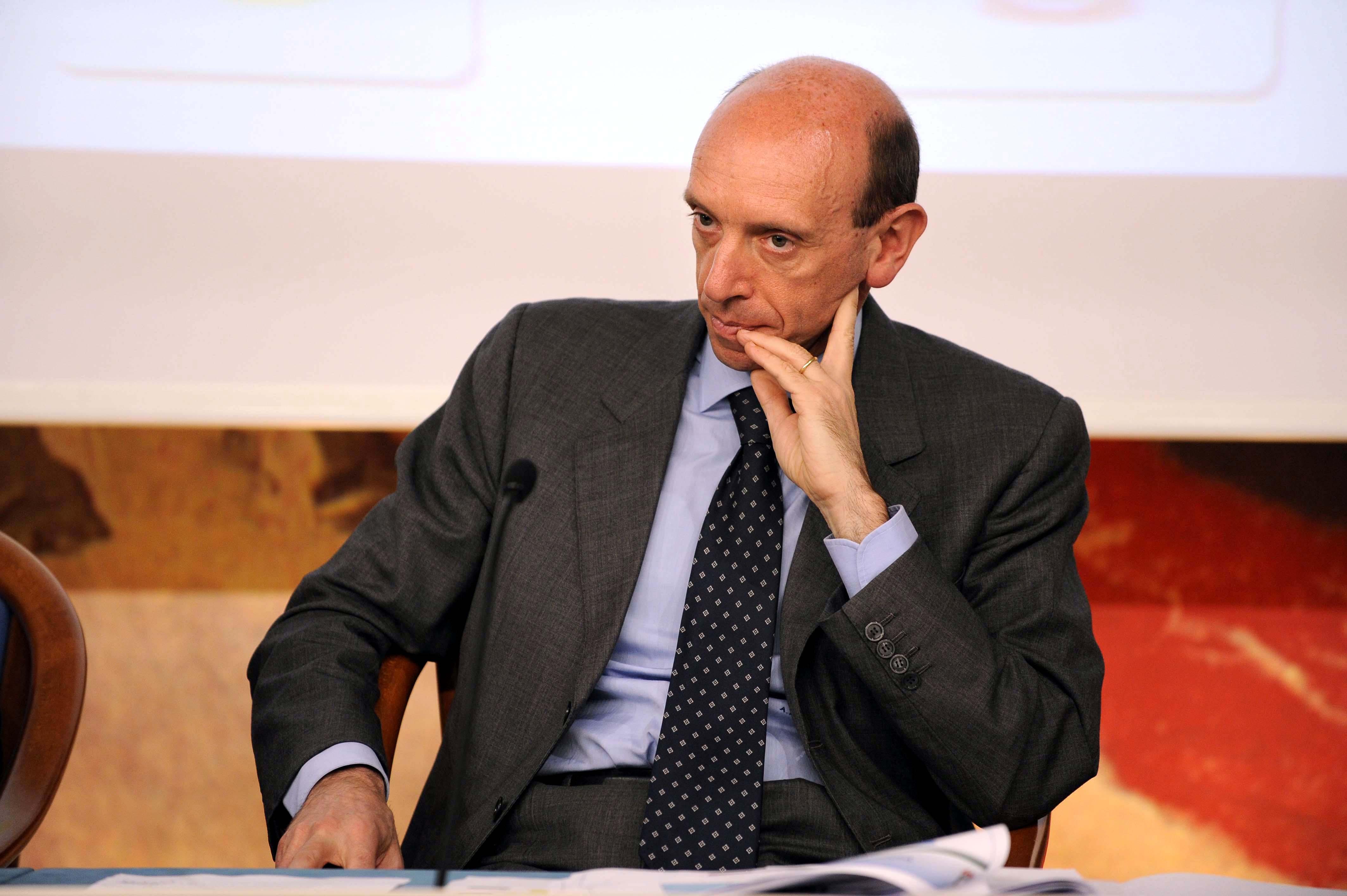 Il presidente Inps Antonio Mastrapasqua (Imagoeconomica)