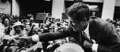 Jfk, nel 1959 durante la campagna presidenziale