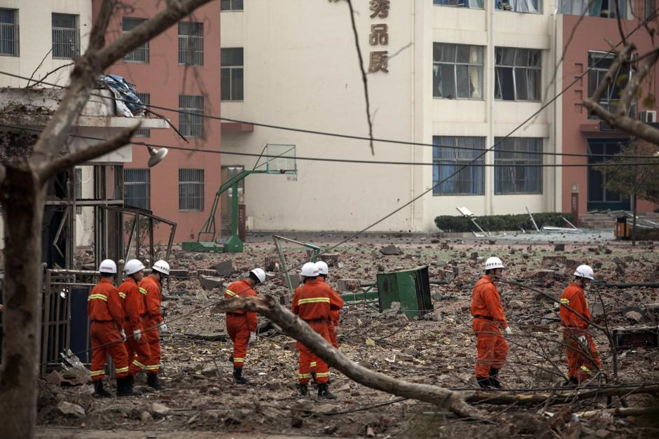 Cina esplode oleodotto a qingdao for Chambre commerciale 13 novembre 2013