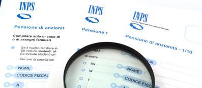 Moduli pensioni Inps (Fotolia)