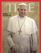 La copertina di Time che indica papa Francesco come uomo dell'anno
