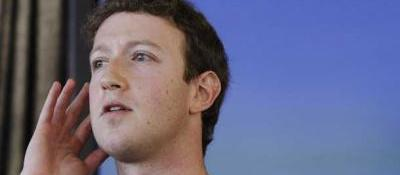 Mark Zuckerberg, fondatore e a.d. di Facebook