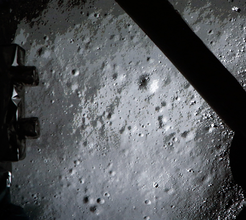 """La prima foto """"lunare"""" scattata dalla sonda cinese"""