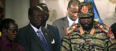 Il presidente sud sudanese Salva Kiir  annuncia la fine del tentativo di golpe