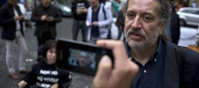 Il presidente della Fondazione Stamina, Davide Vannoni (Ansa)