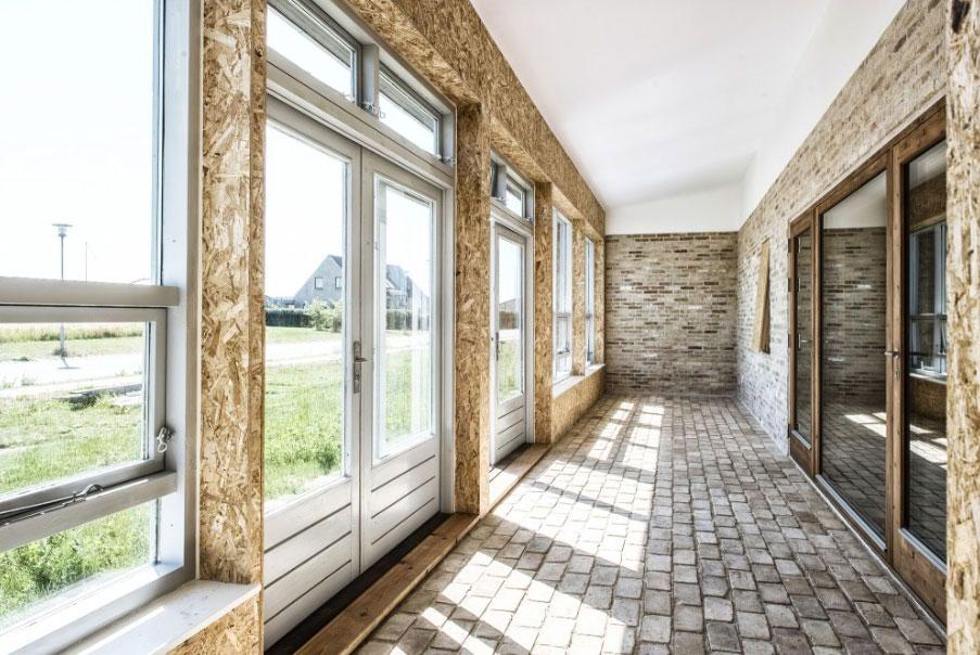 Danimarca la casa costruita interamente di materiali for Casa costruita
