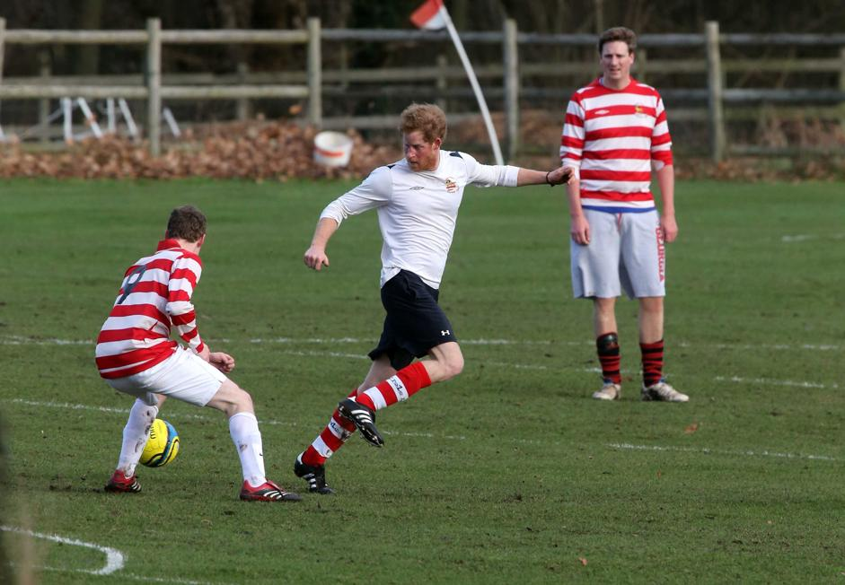 William Harry soccer