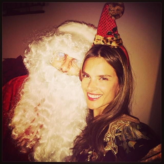 Alessandra D'Ambrosio Natale