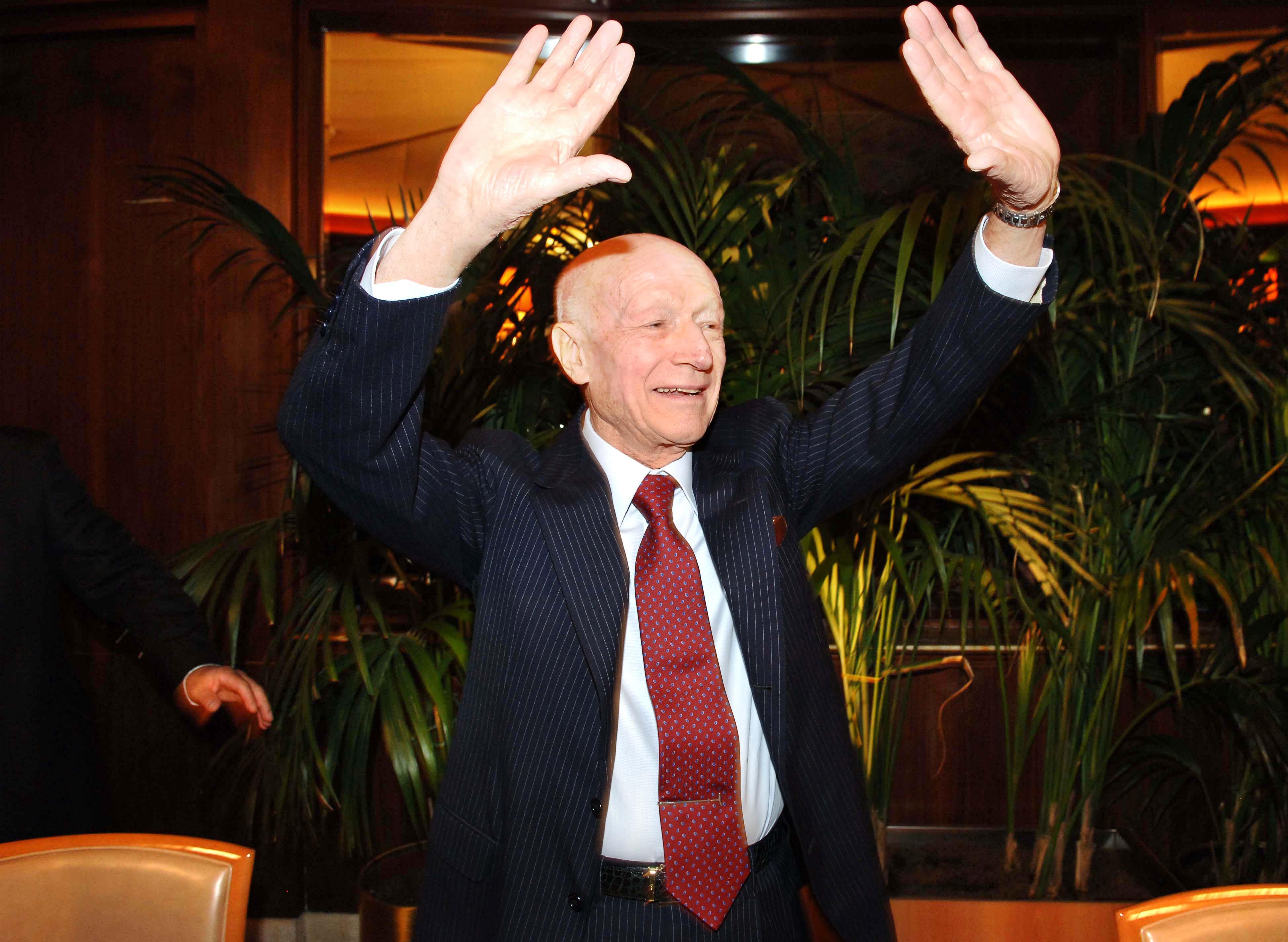 Bernardo Caprotti 88 anni va in pensione