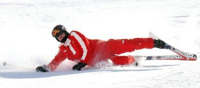 Schumacher in una foto del 2006 a Madonna di Campiglio