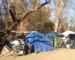 Dentro «The Jungle»,  il campo di senzatetto  più grande  della California