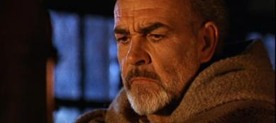 Sean Connery in una scena del film �Il nome della rosa�