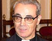 Il cardinale Santos Avril y Castello, arciprete di Santa Maria Maggiore
