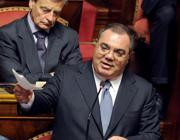 L'ex senatore  Sergio de Gregorio
