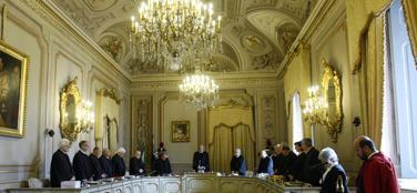 La Corte costituzionale (Ansa)