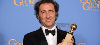 La premiazione di Paolo Sorrentino (Ap)