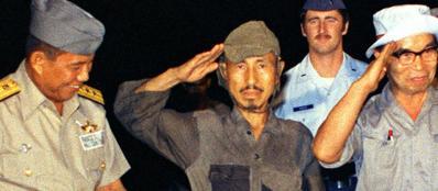 Marzo 1974: Hiroo Onoda si arrende nell'isola di Lubang, FIlippine (Ap)