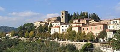 Una veduta di Montecatini