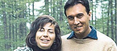 Giovanna Cavazzoni con Abbado negli anni Sessanta