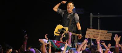 Bruce Springsteen in concerto a Città del Capo (Reuters)
