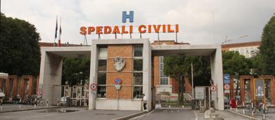 Gli Spedali Civili di Brescia (Fotogramma Brescia)