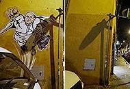 Addio al murales del �papa superman�: cancellato dal Comune per �decoro�