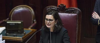 La presidente della Camera, Laura Boldrini (LaPresse)