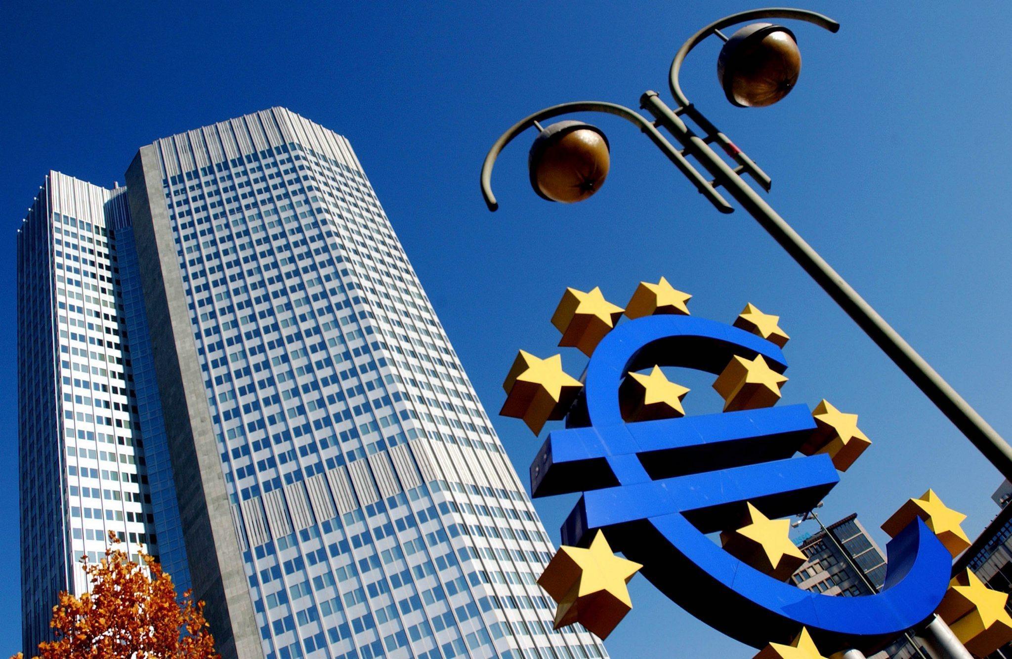 La sede centrale della Bce a Francoforte (Ansa)