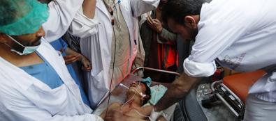 Un ferito nella provincia di Lagham (Reuters)
