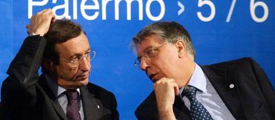 Gianfranco Fini e Carlo Giovanardi (Omega)