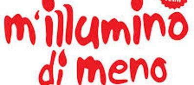 Decima edizione dell'iniziativa «M'illumino di meno»