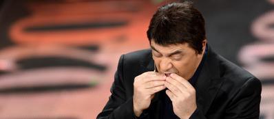 Crozza imita Renzi (Ansa)