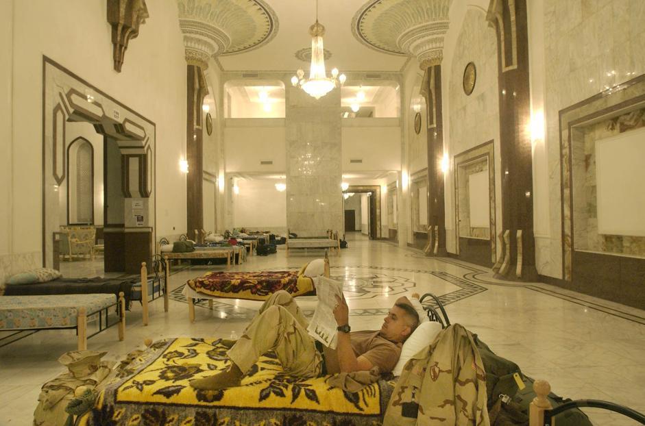 Saddam's palace