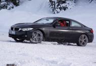 La prova della Serie 4 sulla neve