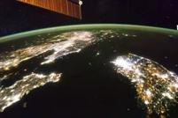 La Iss sorvola il «buio» della Corea del nord