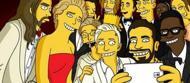 Il selfie degli Oscar in versione cartoon