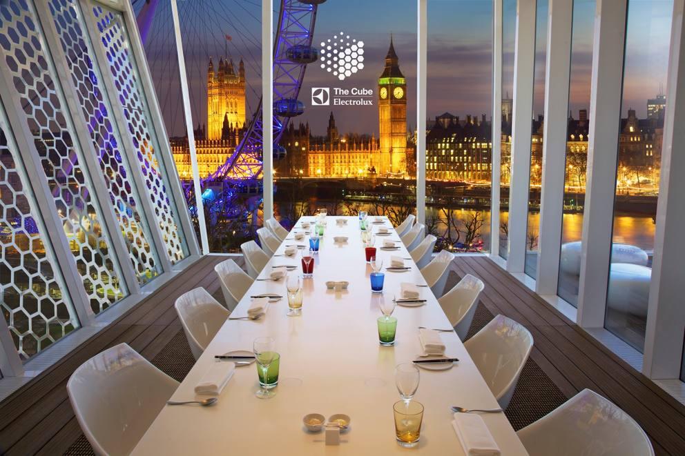 Ecco i ristoranti pi strani d europa for Hotel cube londres