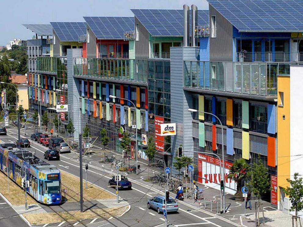 Friburgo capitale del turismo sostenibile for Citta tedesca nota per le fabbriche di auto