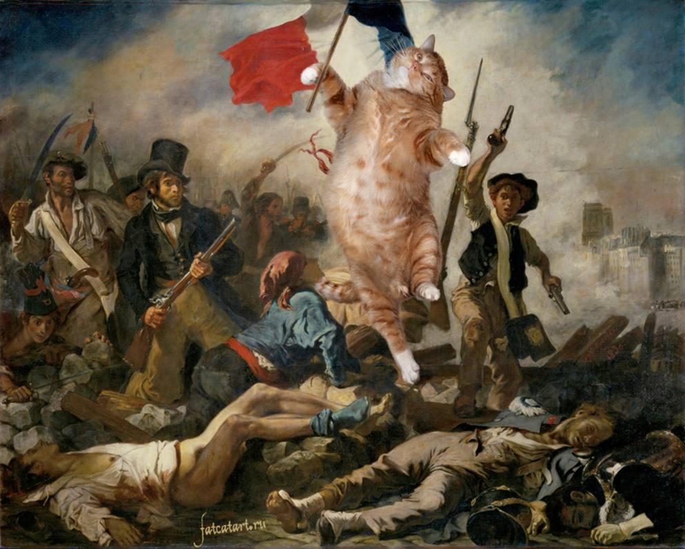 Un gatto in braccio alla gioconda ecco i grandi capolavori felini - Venere allo specchio tiziano ...