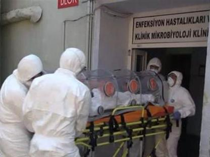 L'italiana portata in ospedale a Istanbul (dal sito di Hurriyet)