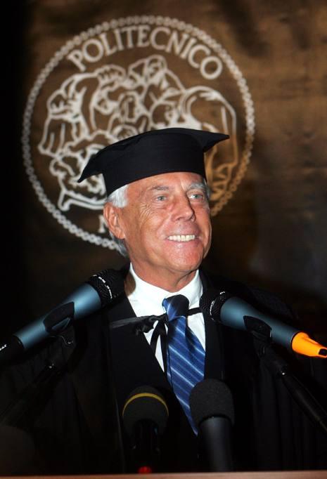 Giorgio armani una carriera lunga 80 anni for Politecnico di milano design della moda