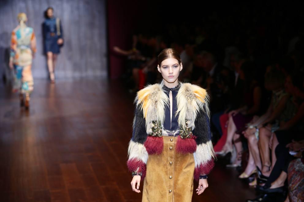8d02e3f97ca294 Gucci, il lusso vintage di Frida Giannini - Corriere.it